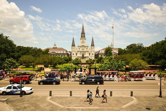 The Best of New Orleans walking tour