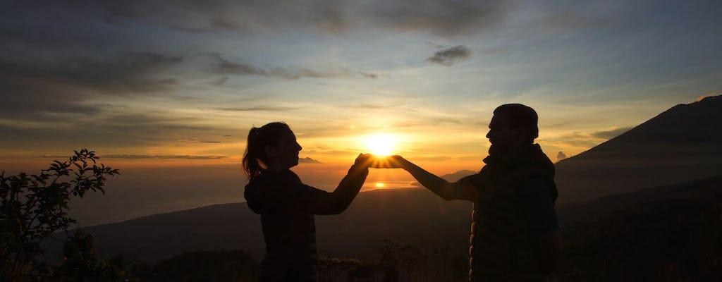 Special Batur Caldera sunrise hike and Batur natural hot spring