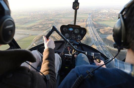 Prywatna lekcja lotu helikopterem z Westchester