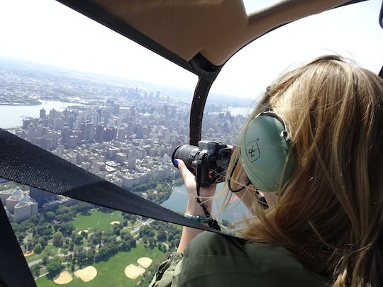 Private NYC Open-Door Helicopter tour from Westchester (2-3 People)