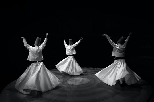 Original Whirling Dervish show Istanbul