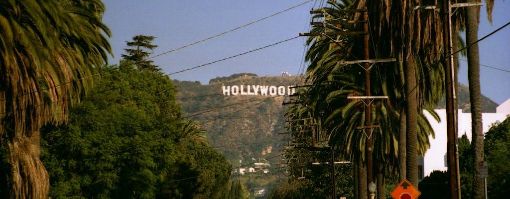 Tour di guida autoguidato delle celebrità di Hollywood e delle case delle star