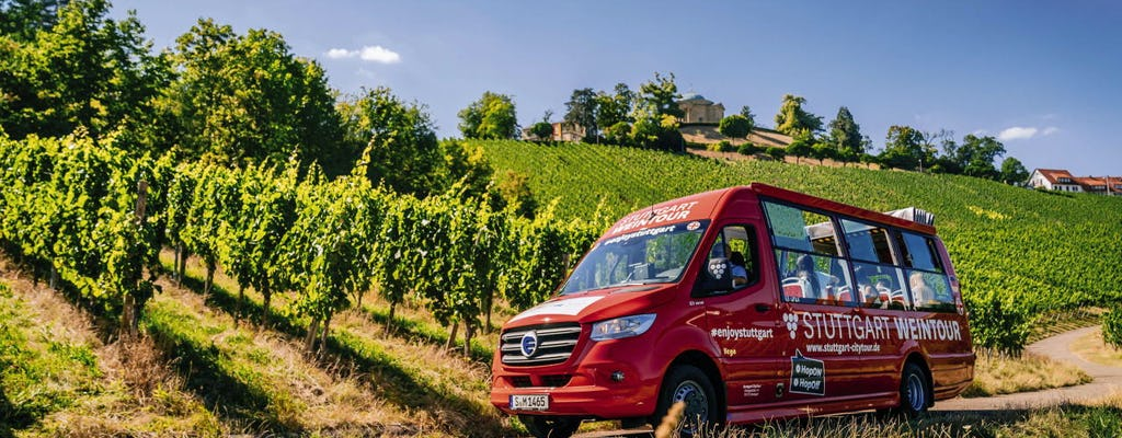 Excursão 24 horas em ônibus hop-on hop-off em Stuttgart - rota do azul e do vinho
