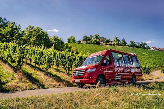 24-hour Stuttgart hop-on hop-off bus tour - blue and wine route