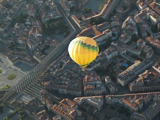 Voo de balão de ar quente em Segóvia