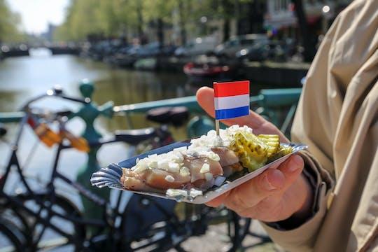 Visite gastronomique de rue à Amsterdam avec un artiste local