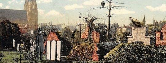 La visita guiada del acre de Dios en el cementerio de Colonial Park