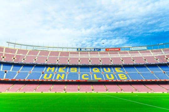 Visita guiada privada al estadio Camp Nou