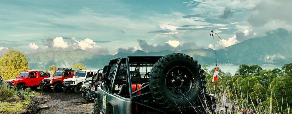 Classico tour in jeep 4x4 con l'alba di Batur Bali