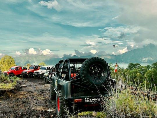4x4 classic jeep tour with Batur Bali sunrise