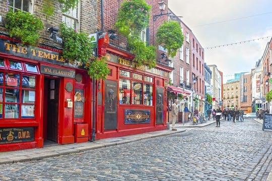 Tour autoguiado com jogo interativo da cidade de Dublin