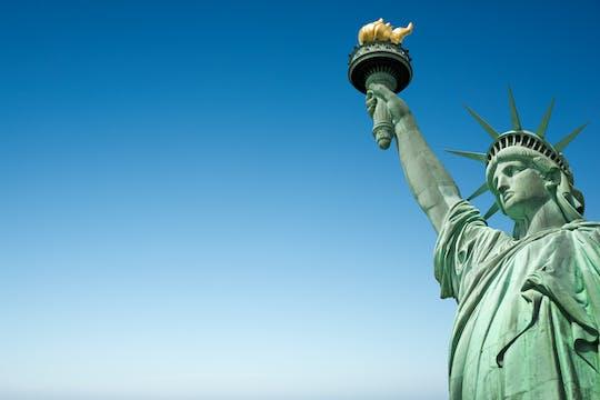 Sla de wachtrij over: 9-11 Memorial en Museum met Statue of Liberty-cruise