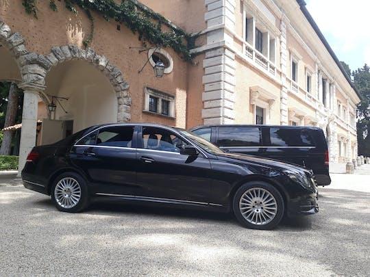 Traslado privado desde Fiumicino al hotel de Roma.