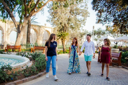 Malta walking tour pass with 2 guided and 3 self-guided routes