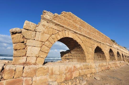 Wycieczka z przewodnikiem po Cezarei, Akce i Rosz Hanikrze z Herzliya