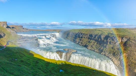 Tour di Reykjavik per piccoli gruppi al Golden Circle e al Kerid Volcanic Crater con ingresso Premium Sky Lagoon