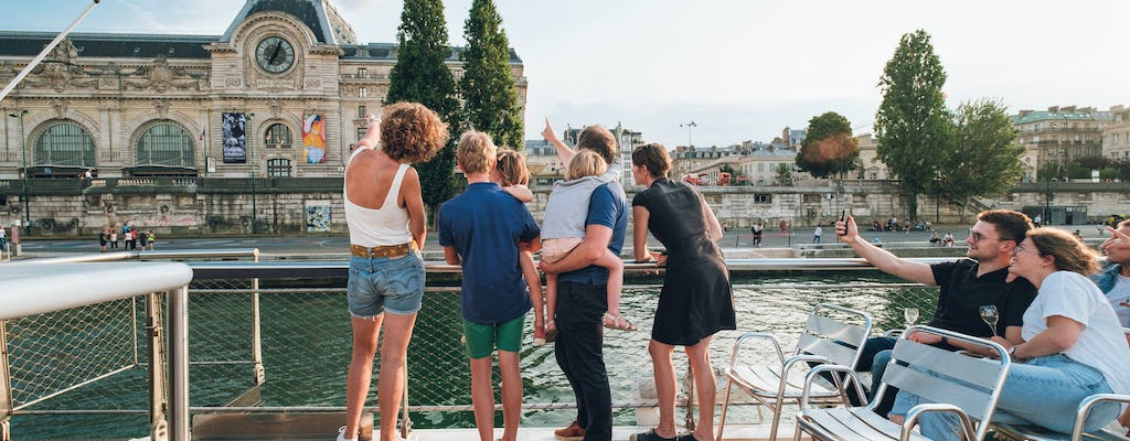Sightseeing cruise tickets with live guide