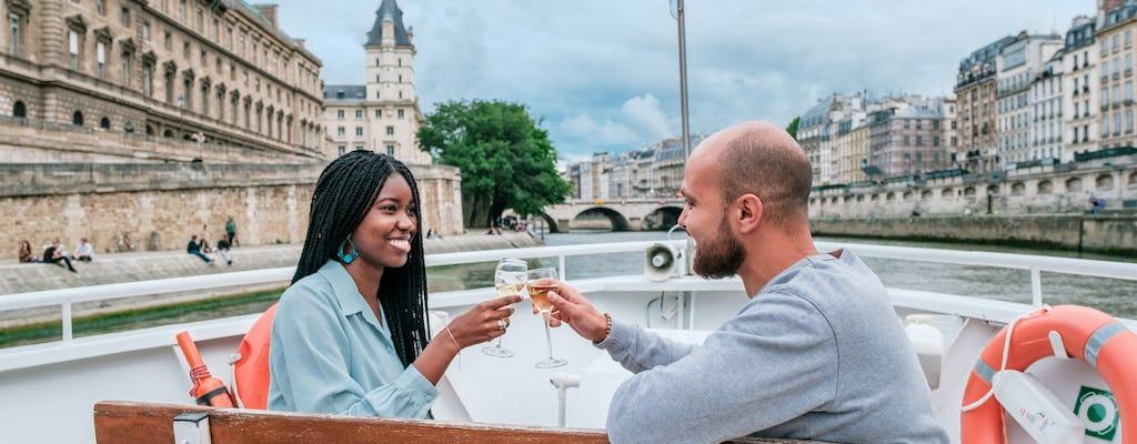 Bilhetes de cruzeiro pelo Rio Sena e champanhe
