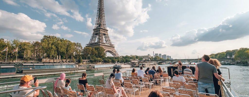 Rondvaart op de Seine met  Franse crêpe sucrée