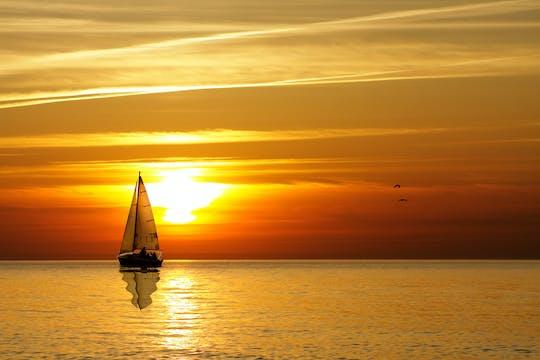 Champagne sunset sail from Cruz Bay