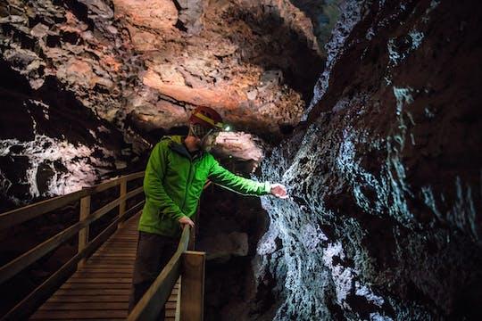 Tour di Reykjavik per piccoli gruppi a Silver Circle e visita alla grotta di lava di Vidgelmir