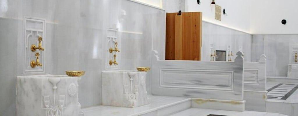 Baño turco privado y experiencia de hidratación con aroma de árbol en Estambul
