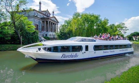 Full-day river cruise among Venetian Villas from Venice to Padua