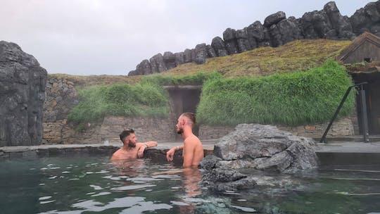 Tour per piccoli gruppi di Reykjavik al Golden Circle, Kerid Volcanic Crater con ingresso Sky Lagoon
