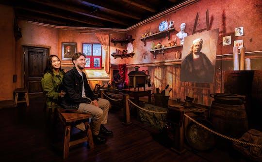 Ingresso de entrada para o Rembrandts Amsterdam Experience