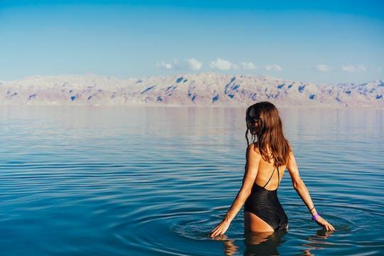 Relajación de día completo en el Mar Muerto desde Netanya