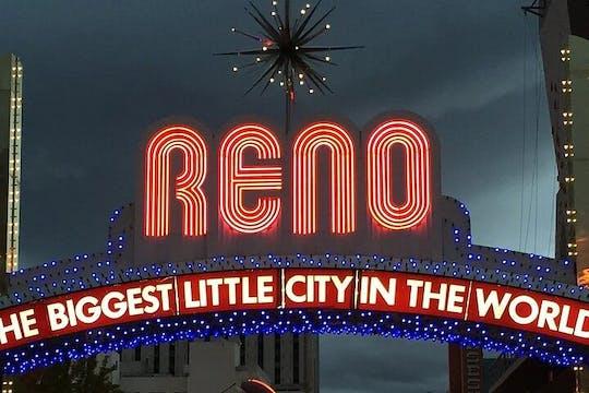 Wycieczka piesza z przewodnikiem po centrum Reno