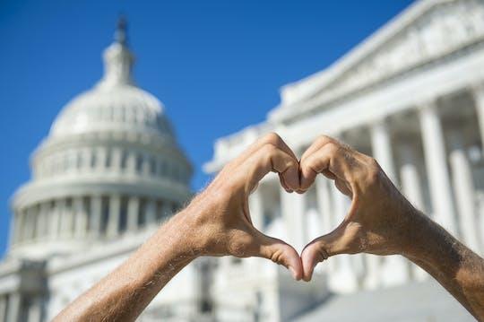Love story of Washington private tour