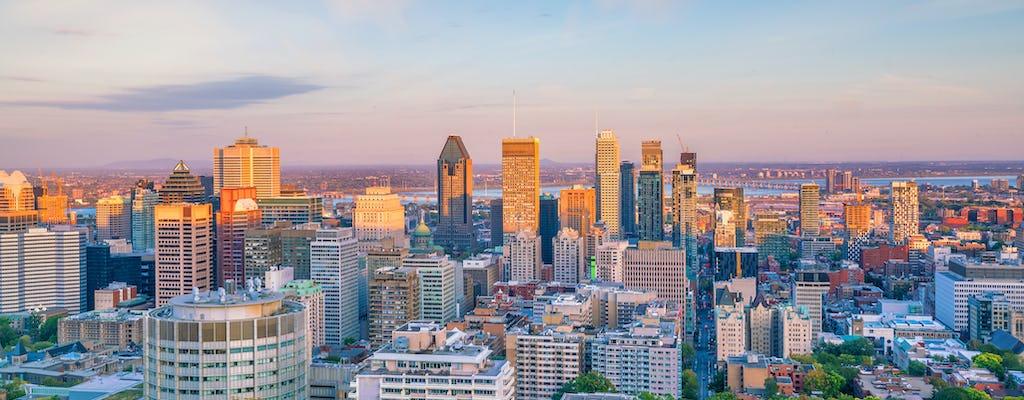 Tour de ônibus pela cidade Heart of Montreal