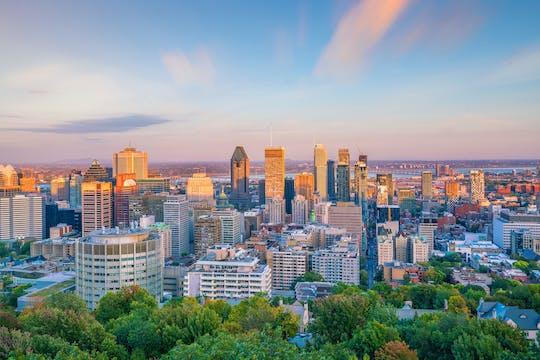 Wycieczka autobusowa po centrum Montrealu