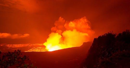 Сумеречный пеший тур по Национальному парку Гавайских вулканов