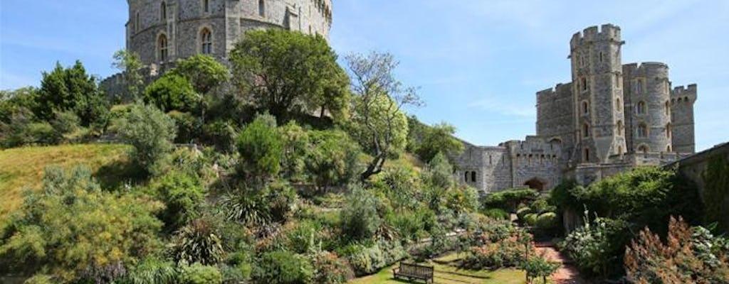 Castillo de Windsor y Palacio de Hampton Court