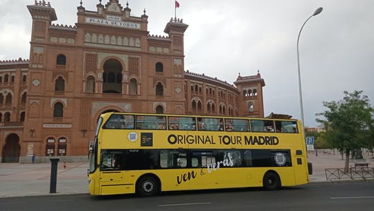 Madrid bus city tour