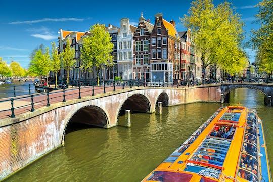 Crociera sul canale di Amsterdam del Jordaan e delle isole della città