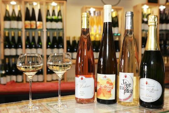 Tradycyjna degustacja wina i zwiedzanie piwnicy w Domaine Fahrer & Fils