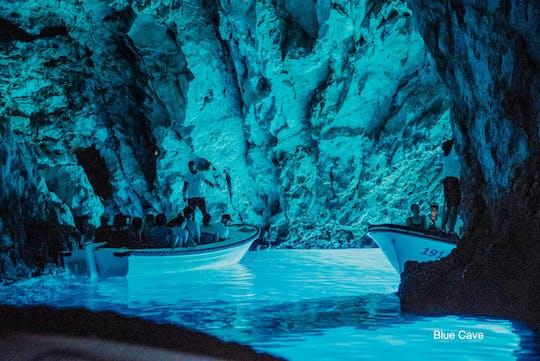 Blue Cave und Hvar 5 Inseln Tour von Trogir