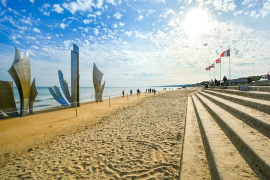 Guided tour of Caen Memorial and D-Day Beaches from Paris