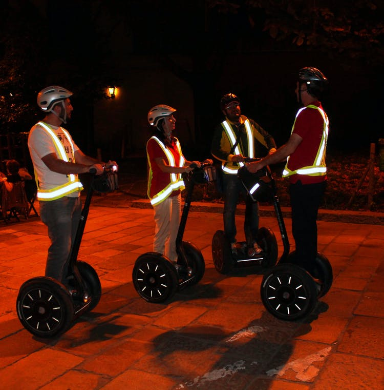 Milan Segway Night