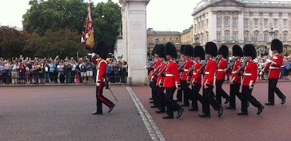 Buckingham Palace skip-the-line tour with Changing of the Guard