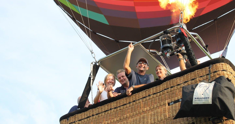 Balloon Flight Experience near Milan