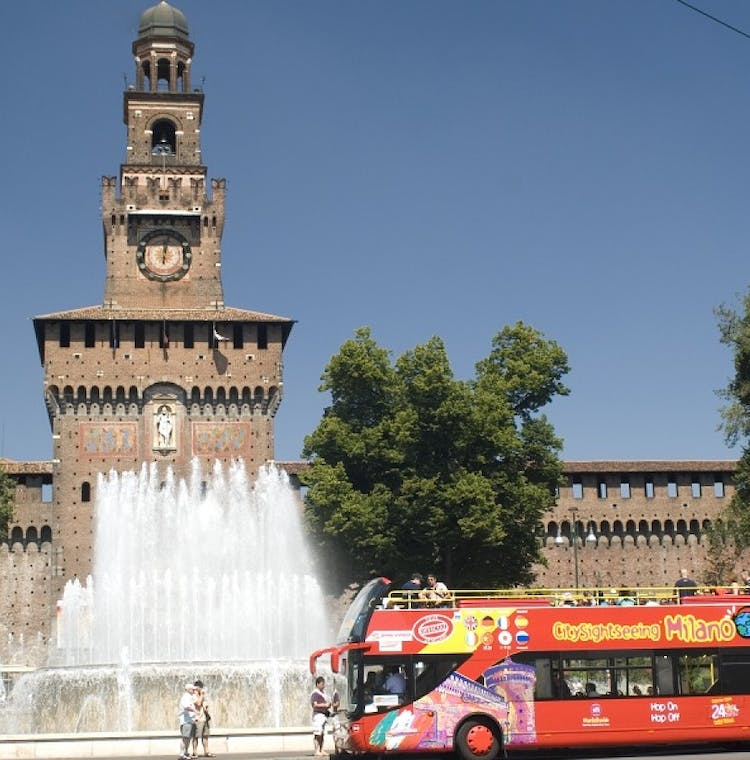Milan Hop-on Hop-off Bus Tour: 24 & 48-Hour Tickets