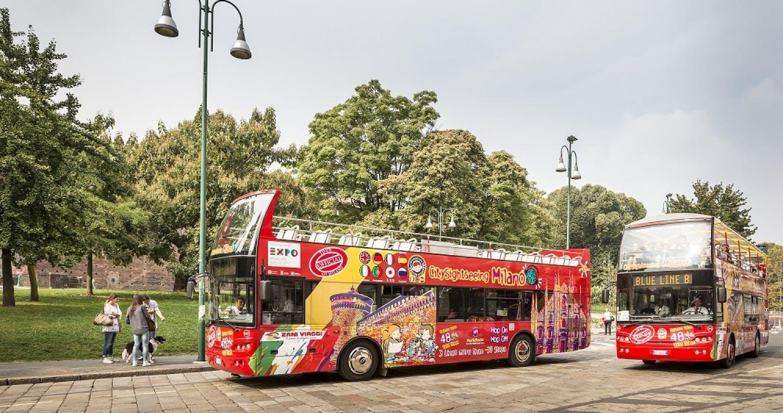 Milan Hop-on Hop-off Bus Tour: 24 & 48-Hour Tickets
