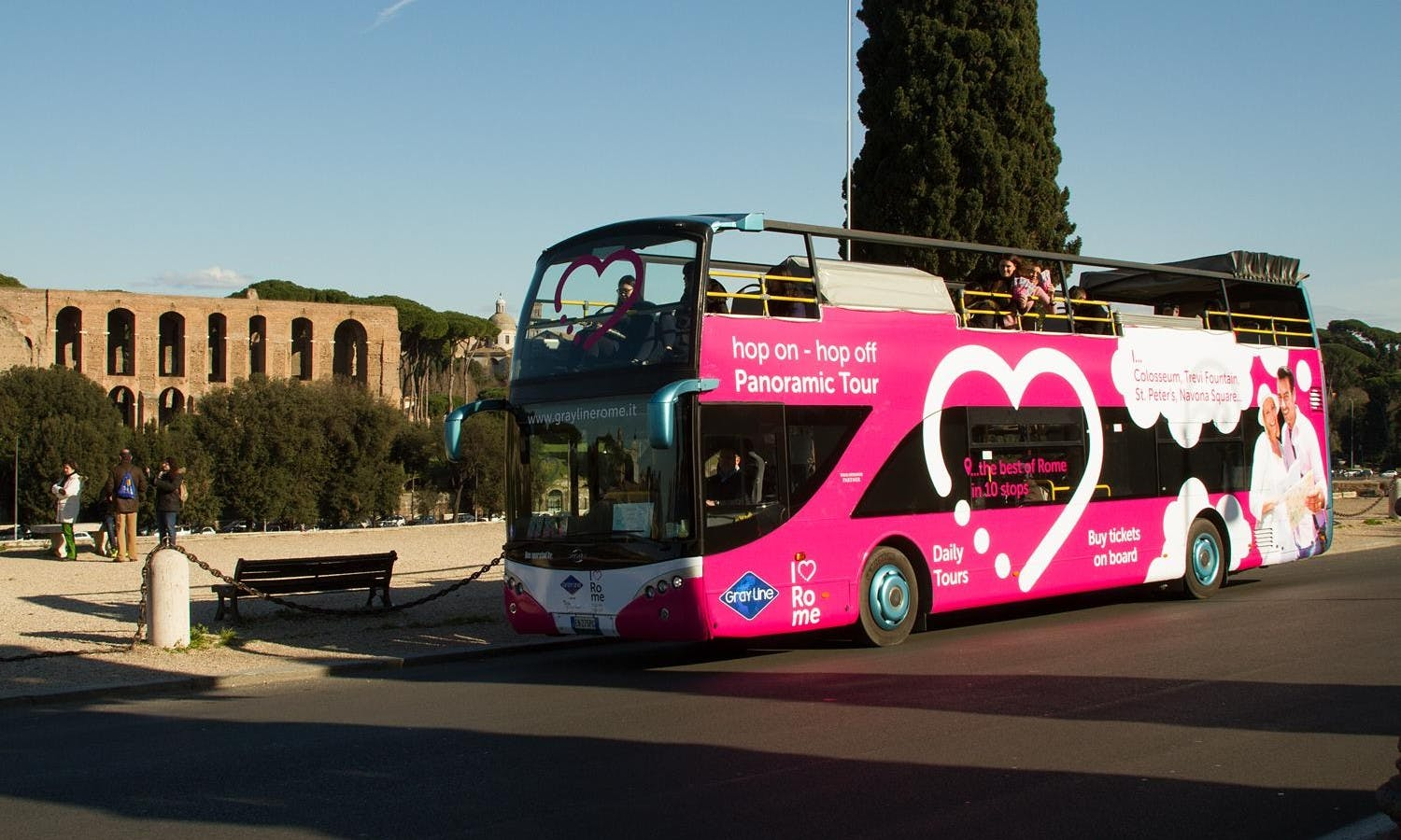 Rome hop-on hop-off bus with all-in-one tickets | musement
