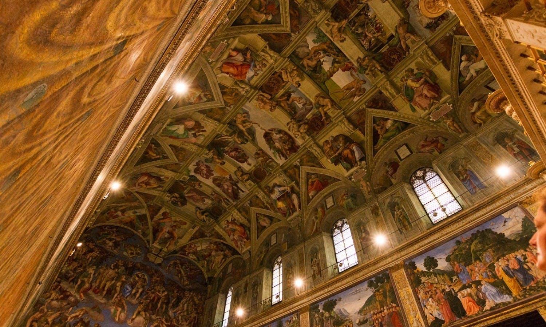 Visite mus es du vatican chapelle sixtine saint pierre musement - Billet coupe file chapelle sixtine ...