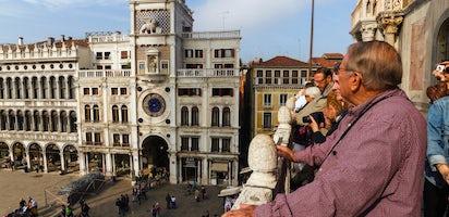 Legendary Venice St Mark S Basilica Terrace And Doge S Palace