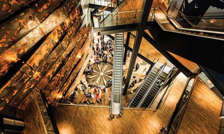 titanic belfast - tickets - museum - atrium